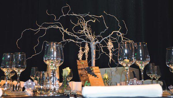 Decoratiestuk J&M Catering
